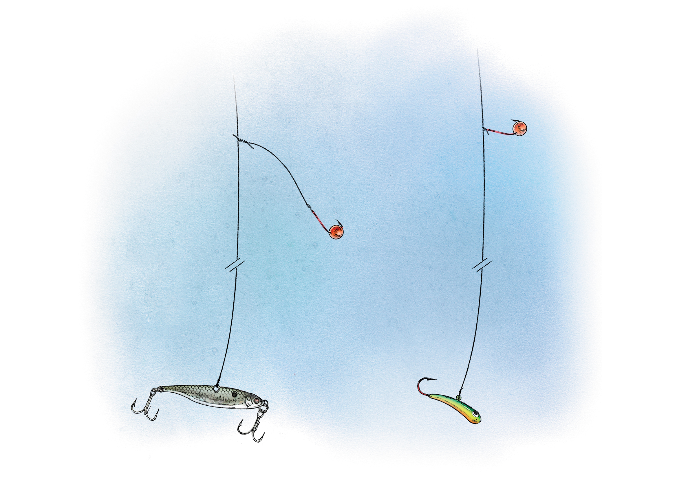 List of Synonyms and Antonyms of the Word: ice fishing rigs