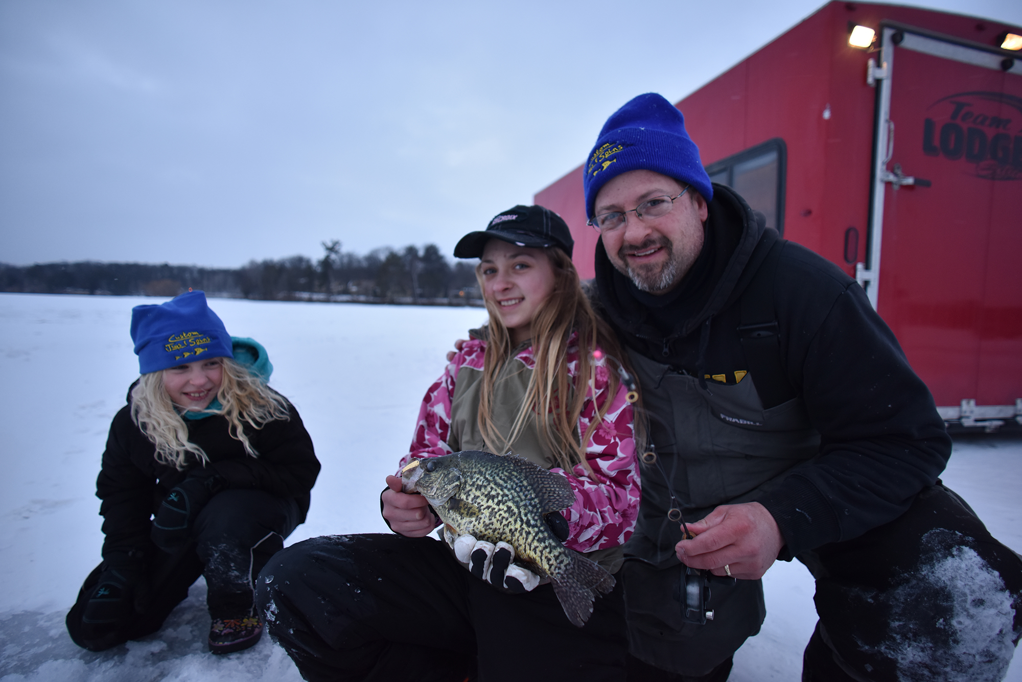 Ice Crappie Lures