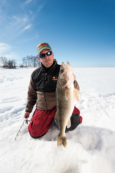 New Age Walleye Ice Fishing