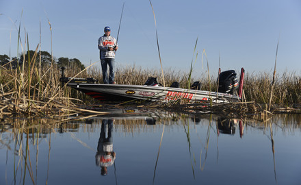The Coosa River offers bass anglers a plethora of habitats to fish.