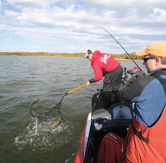 Vertical Snap Jigging Walleye