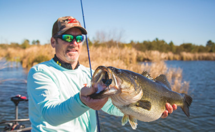 Stephen Browning of Z-Man's pro staff has found the new ProjectZ ChatterBait deadly for big bass.