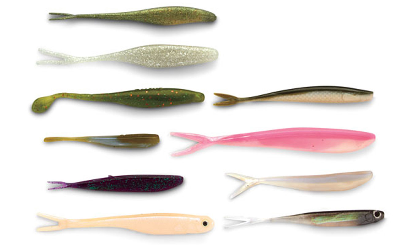 Plastic Lures for Walleye Fishing