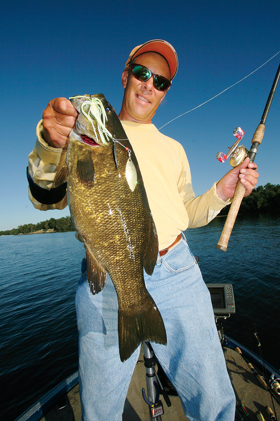 Smallmouth Bass In July