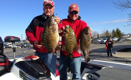 Smallmouth bass fishing tips for a couple Michigan hotspots.