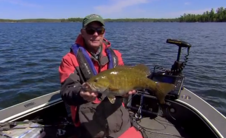 Pike, smallmouths, and walleyes on Rainy Lake.