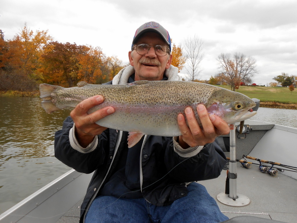 Novembers of the past for Trout fishing in kansas
