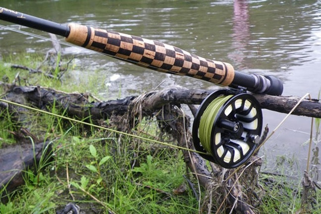 How To Build A Checkerboard Rod Handle