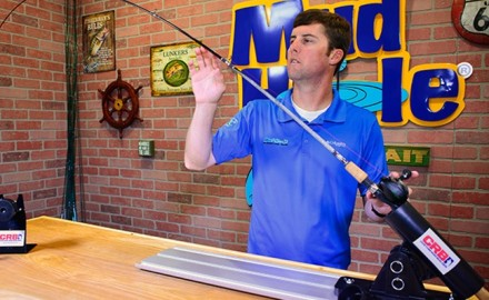 Learning how to properly space your rod guides is just part of the learning curve in rod building.
