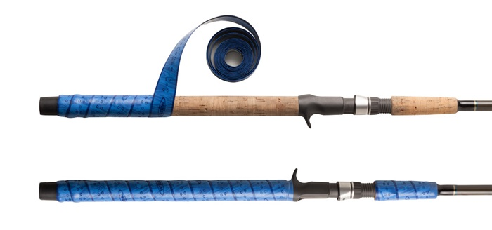 Get a feel for winn grips and handle wraps in fisherman for Fishing rod handle wrap