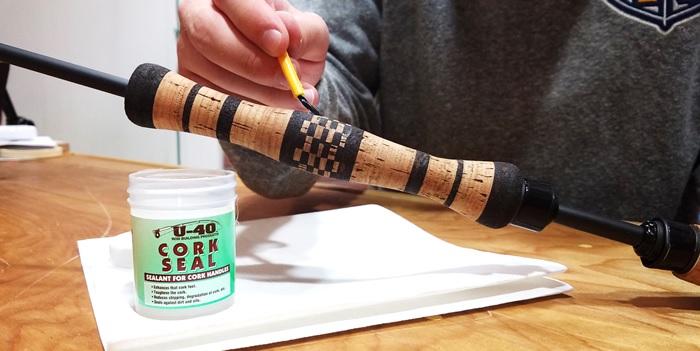 Protect Cork Fishing Grips