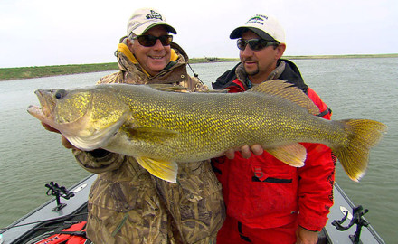 All you have to do is dream big and make plans to get there'to manic walleye fishing just waiting.
