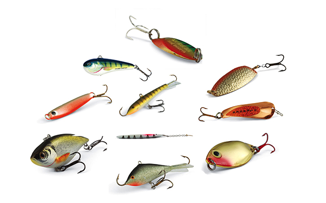 The top ten ice lures of all time in fisherman for Ice fishing lures for panfish