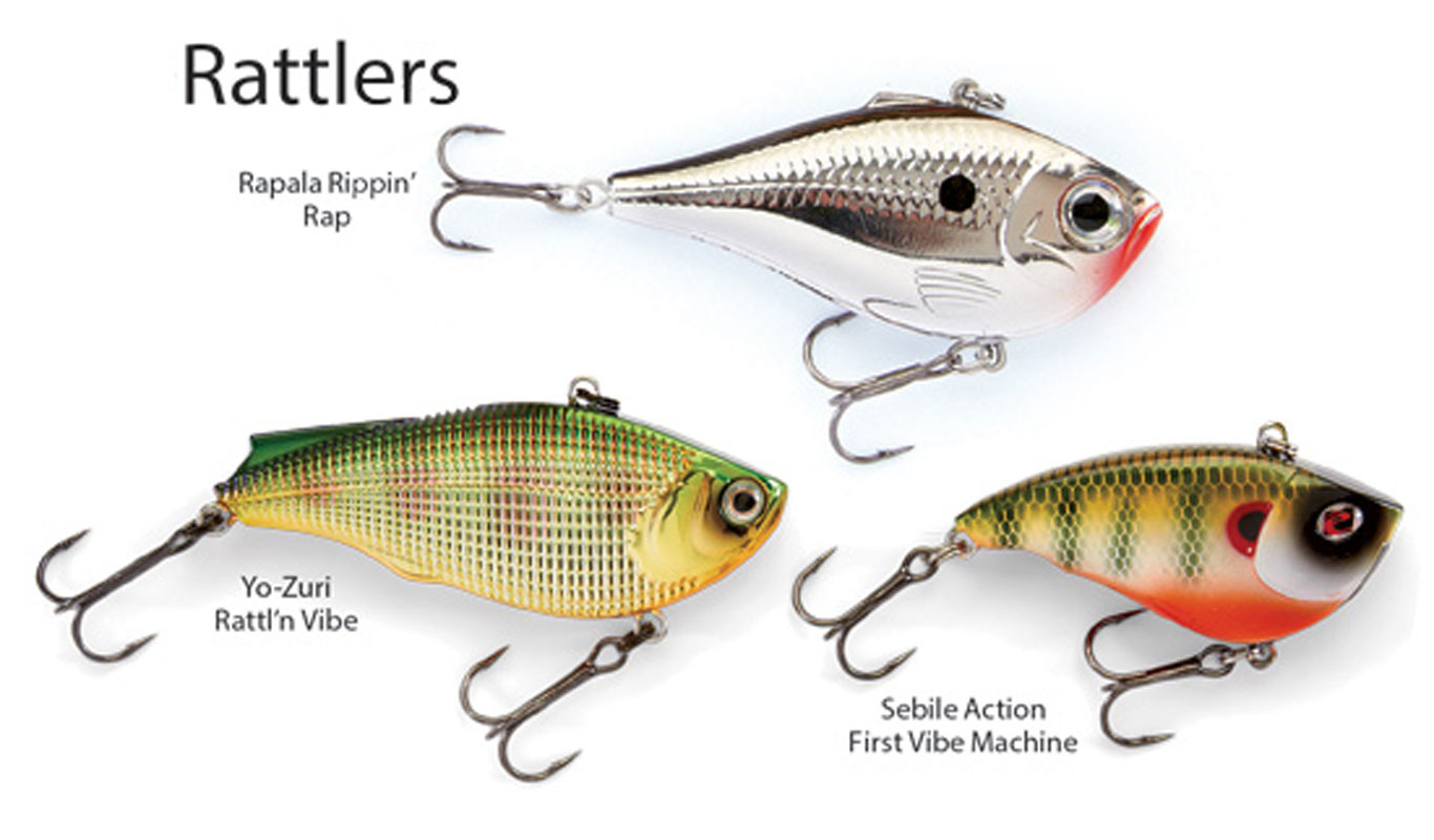 Rattling Lures for Spring Walleye