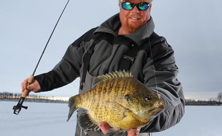 Special coatings containing brighteners that give ice lures added visual appeal can in some