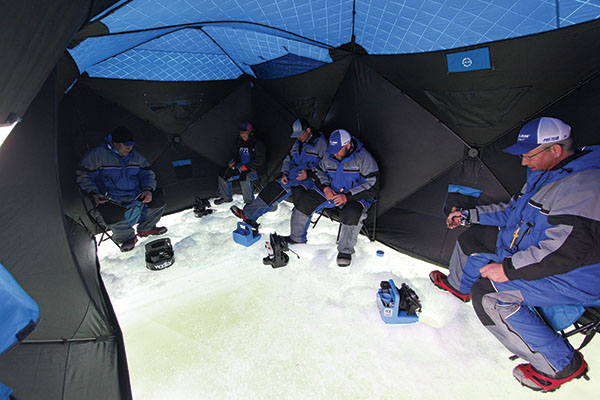 Hub Ice Shelters & Hub Ice Shelters - In-Fisherman
