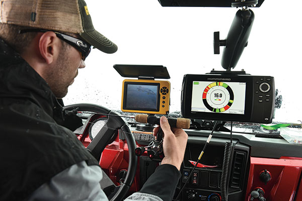 ATV Electronics for Ice Fishing