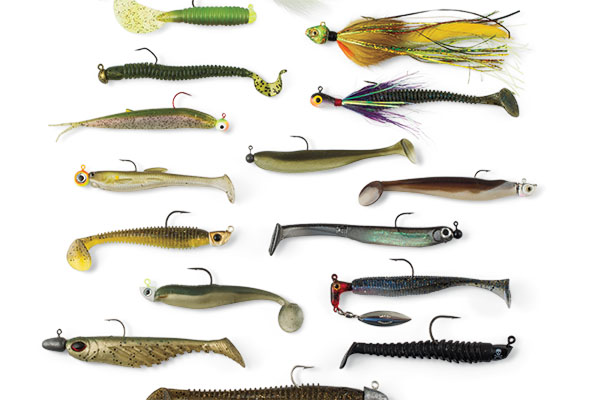 Types of Walleye Swim Jigs