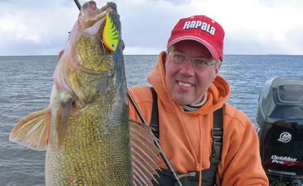 Vertical Walleye Fishing