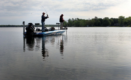 Find out what effects cold fronts have on bass activity.