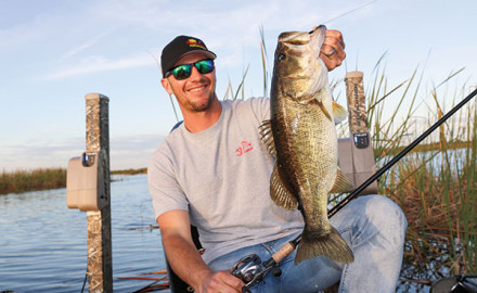 Jeff Gustafson learned at a young age how to find bass fast. He shares a few tips to help you next time you're out on the water.