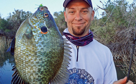 Growing up fishing the Upper Midwest, redear sunfish were one of those