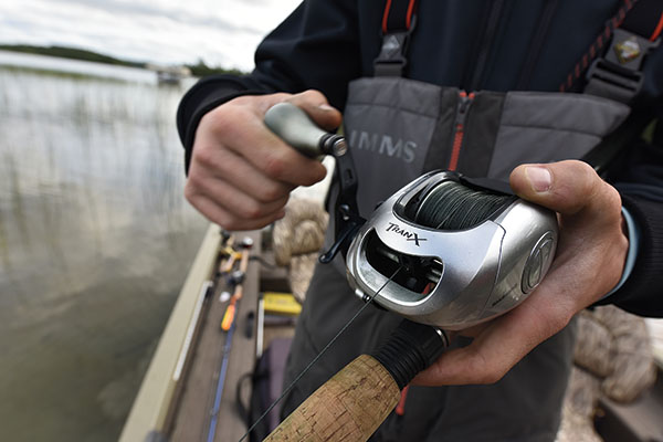 Low-Profile Reel Designed for Handling Big Muskies on Topwater