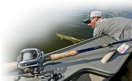 Muskie fishing could be described as dull routine, interrupted by chaos, as a thousand things can