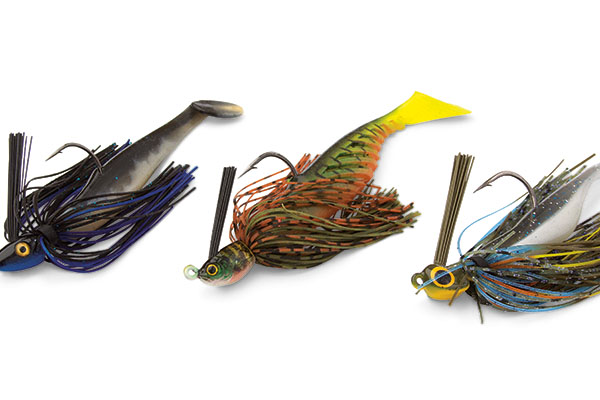 Various Swim Jig Patterns for Pike