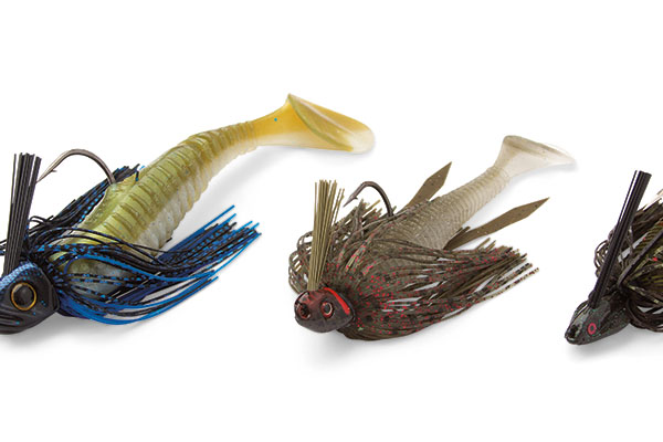 Swim Jig Trailers for Pike