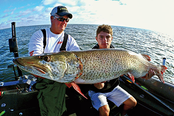 Best Odds of Catching A Muskie