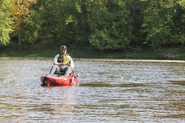 Kayak Fishing for Catfish