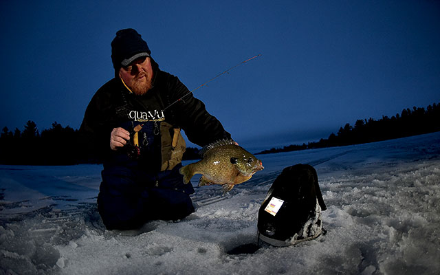 How to Find Panfish on Big Lakes