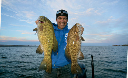 As these experts attest, a drop-shot rig often is the deadliest choice for summertime smallmouth bass.
