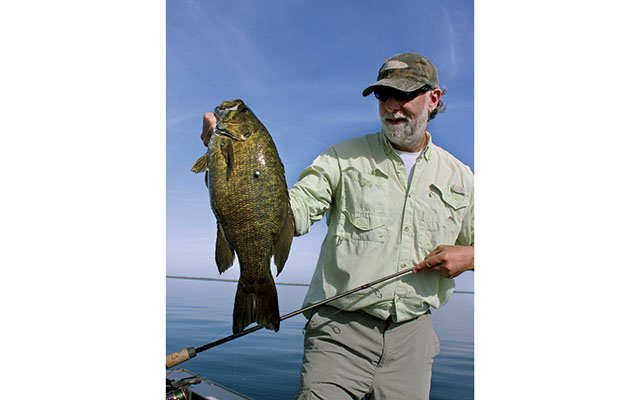 Drop Shot Smallmouth