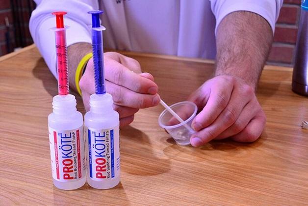 Stir Together Two Part Epoxy