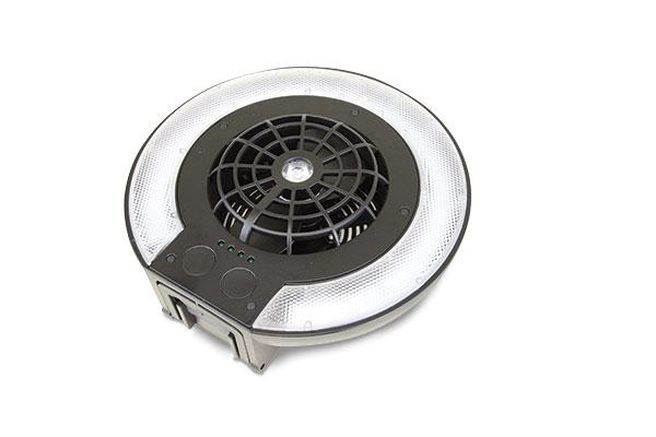 Clam Deluxe Fan