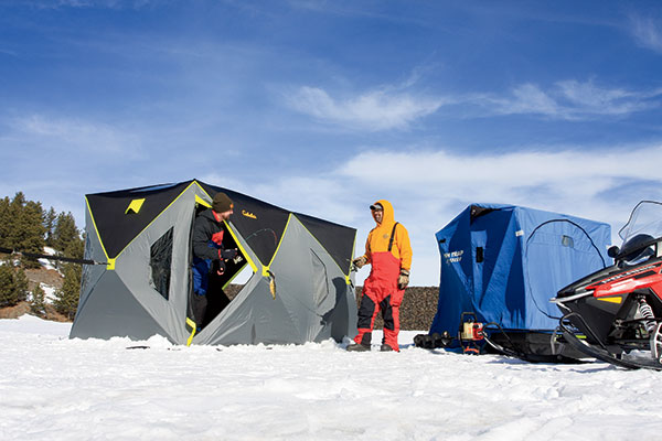 Portable Snow Shelter : Portable fishing shelters for in fisherman