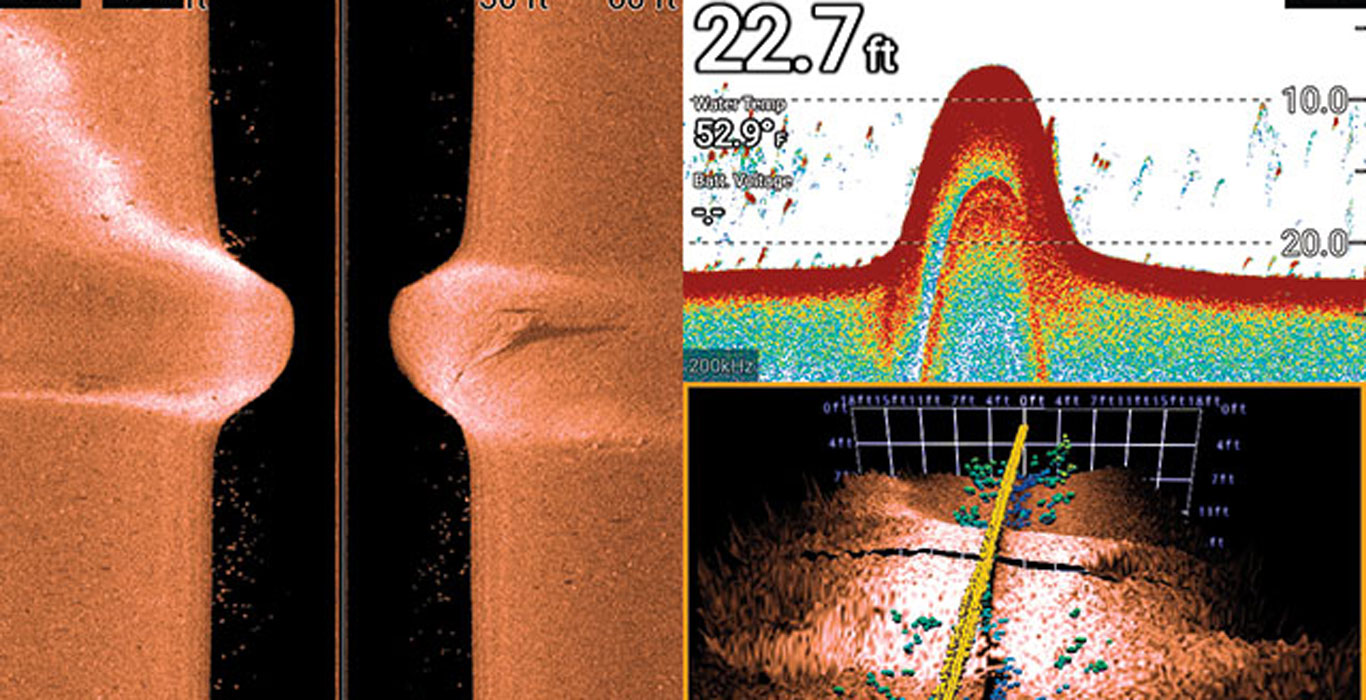 Sonar Imaging for Catching Walleye