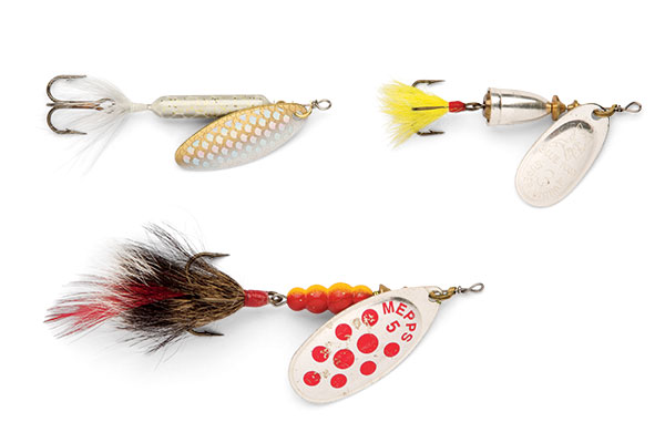 Spinners for Fall Pike