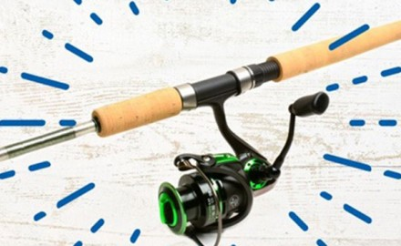 Steelhead fishing is an exhilarating experience and this is the drift rod that's ready for all the action.