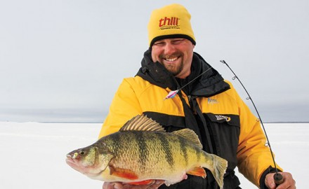 Sweet-tasting yellow perch of jumbo proportions are coveted catches across the Ice Belt. Yet not