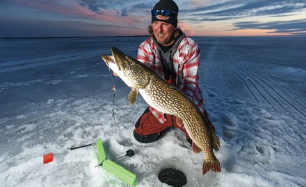 Tip-ups are simple yet invaluable ice-fishing tools. They save us from hypnotically staring down