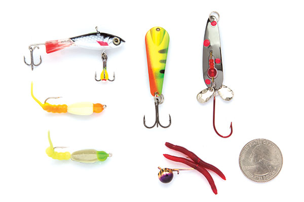 Great Baits for Winter Bass