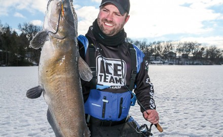 Channel catfish are one of the more peculiar species to target through the ice. They're available