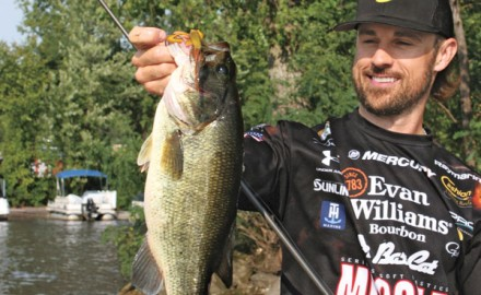 When bass become tight-lipped, finesse flippin' is needed to keep strikes coming.