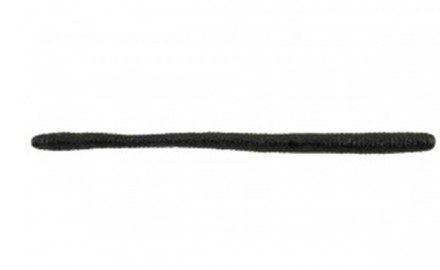 The black PowerBait MaxScent D-Worm.