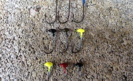 For years on end, a 1/32-ounce mushroom-style jig with either a No. 4 or a No. 6 hook has played a
