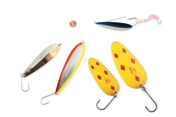 Barbless Hooks on Spoons