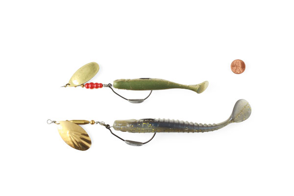 Spinner-Rigs with Barbless Hooks for Pike